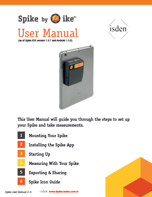Spike isden User Manual